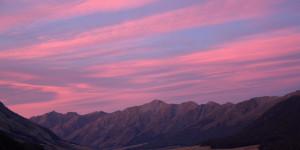 NZ, Autumn Sunset/Sunrise